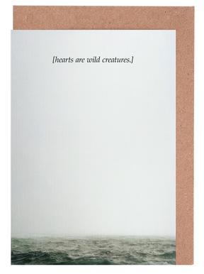 Wild Creatures Greeting Card Set