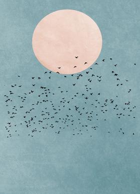 Fly Away canvas doek