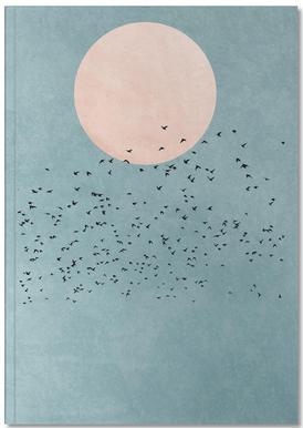 Fly Away -Notizheft