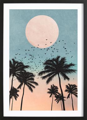Sunrise ingelijste print