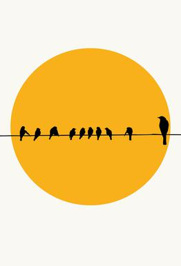 Bird Family Acrylic Print