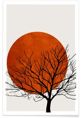 Winter Sunset -Poster