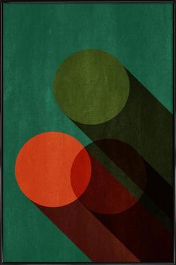 Dreier - Poster in kunststof lijst