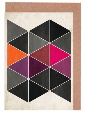 Schattenspiel -Grußkarten-Set