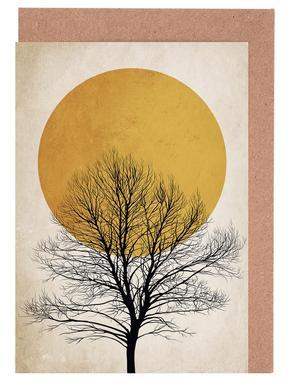 Wintermorgen cartes de vœux