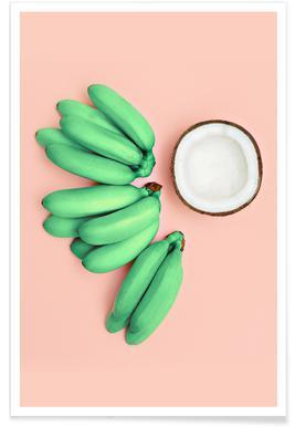 Banana Colada Poster