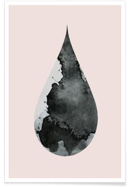 Drop No. 4 - Premium poster