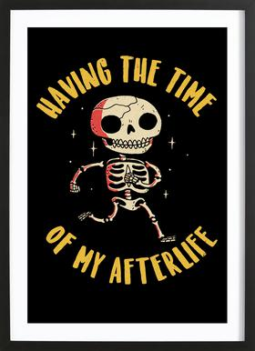 The Time Of My Afterlife Framed Print