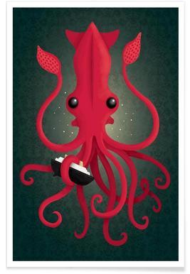 Kraken Attacken Poster