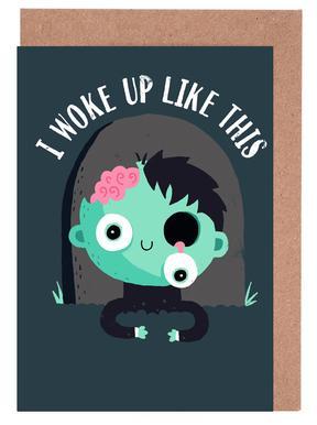 I Woke Up Like This -Grußkarten-Set