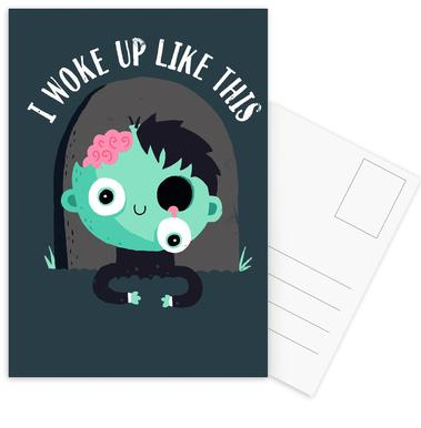 I Woke Up Like This -Postkartenset