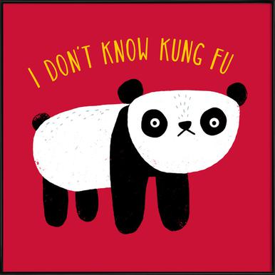 Regular Panda Framed Poster