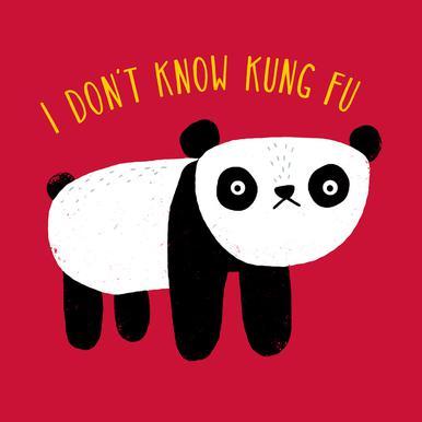 Regular Panda -Leinwandbild