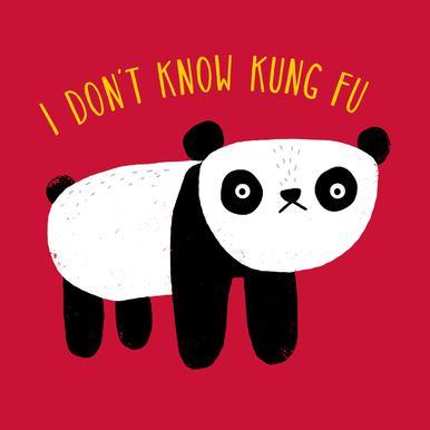 Regular Panda Acrylic Print