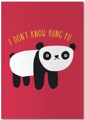 Regular Panda Notebook