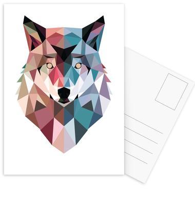 Geo Wolf cartes postales