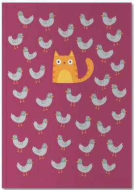 Cat Among the Pigeons Notebook