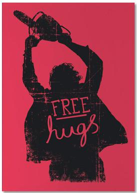 Free Hugs -Notizblock