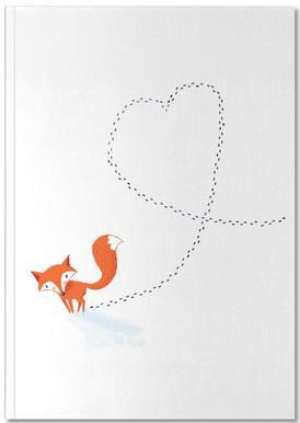 Foxy Love Notebook