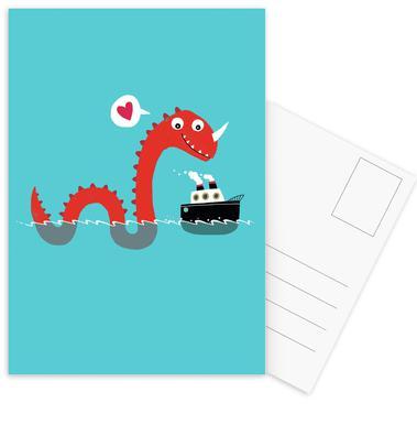 Love on the Open Seas -Postkartenset