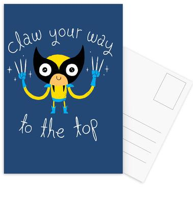Claw Your Way to the Top -Postkartenset