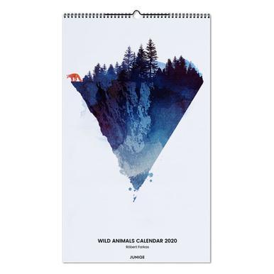 Wild Animals Calendar 2020 - Róbert Farkas Wall Calendar