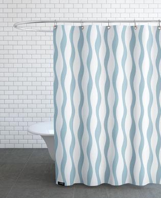 Wave -Duschvorhang