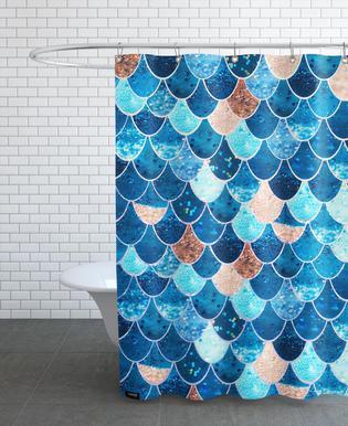 Mermaid Blue -Duschvorhang