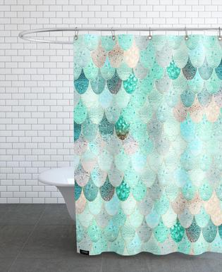Mermaid Summer Shower Curtain