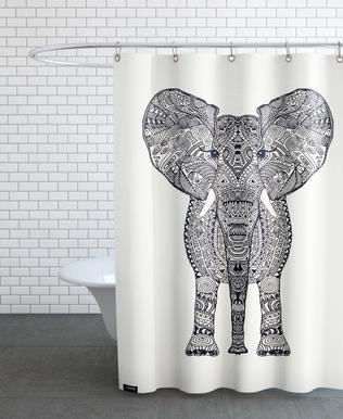 Aztec Elephant Shower Curtain