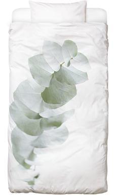 Eucalyptus White 1 Dekbedovertrekset