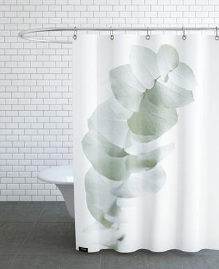 Eucalyptus White 1 -Duschvorhang