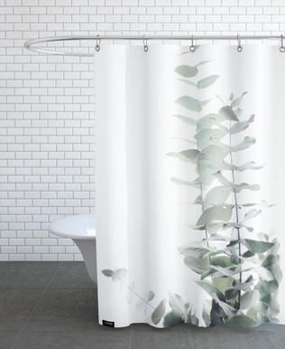 Eucalyptus White 2 rideau de douche