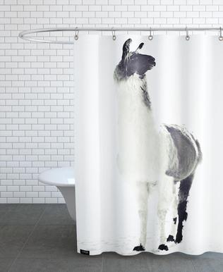 Fluffy Lama rideau de douche