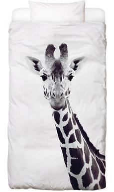 Giraffe Dekbedovertrekset