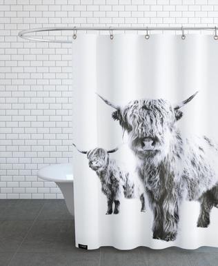 Highland Cows -Duschvorhang