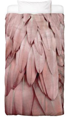 Pastel Feathers Bed Linen