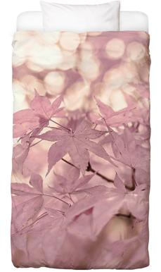 Rose Maple Leaves Bed Linen