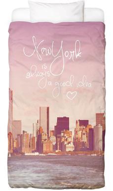 New York Is Always a Good Idea Bed Linen