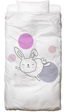 Space Rabbits Astra -Kinderbettwäsche