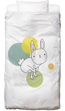 Space Rabbits Luna -Kinderbettwäsche