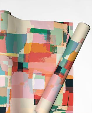Abstract Painting No.9 Gift Wrap
