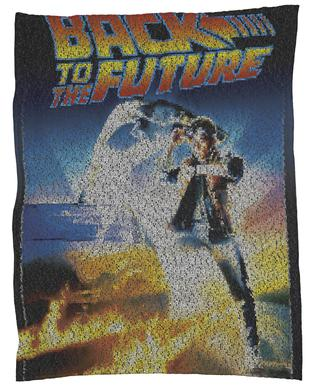 Back To The Future Fleece Blanket
