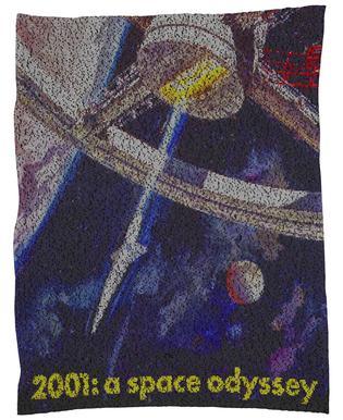 A Space Odyssey Fleece Blanket