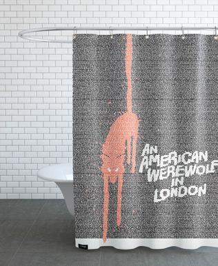 An American Werewolf In London Shower Curtain