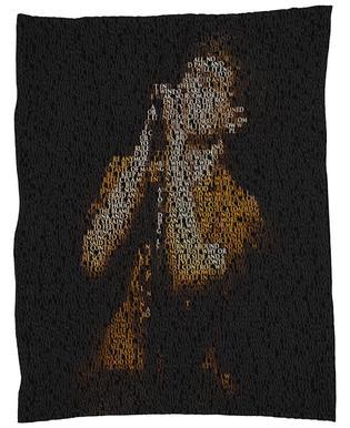 Unknown Pleasure Fleece Blanket