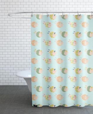 Vintage Swimmers Shower Curtain