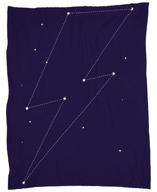 Bowie Stars Fleece Blanket