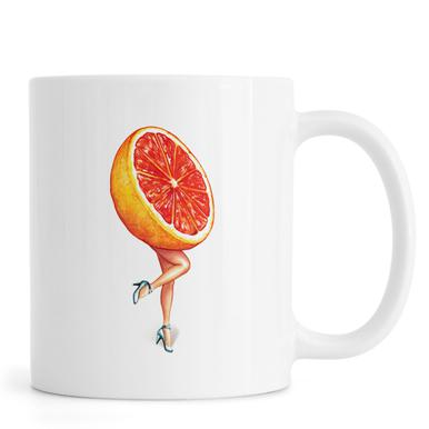 Fruit Girls Grapefruit Mug