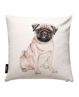 Mops Cushion Cover